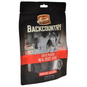 Merrick Backcountry Great Plains Real Beef Jerky (78616)