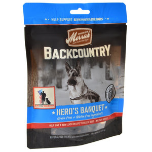 Merrick Backcountry Hero's Banquet Dog Treats (78617)