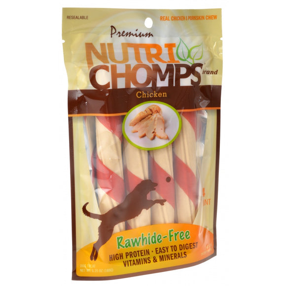 Premium Nutri Chomps Chicken Wrapped Twists (NT001)