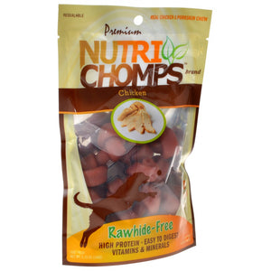Premium Nutri Chomps Chicken Flavor Mini Knots (NT003)
