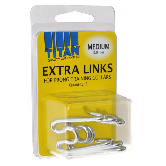 Titan Extra Links for Prong Training Collars (05591H G300)