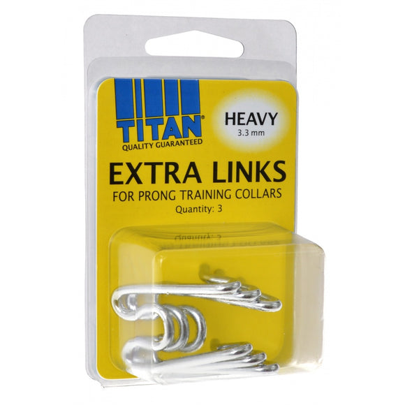 Titan Extra Links for Prong Training Collars (05591H G330)