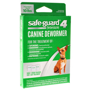 8 in 1 Pet Products Safe-Guard 4 Canine Dewormer (J7161-1)