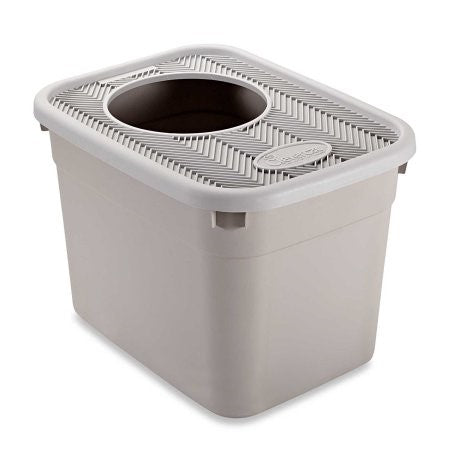 Clevercat Top-Entry Litterbox 20 x 15 x 15 Inch