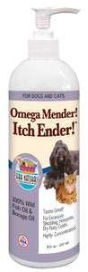 Ark Naturals Royal Coat Express  Omega Mender Itch Ender Oil for Dog & Cat 8 Oz