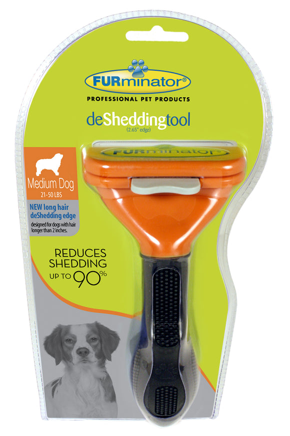 Furminator Short Hair Undercoat Deshedding Tool for Medium Dog
