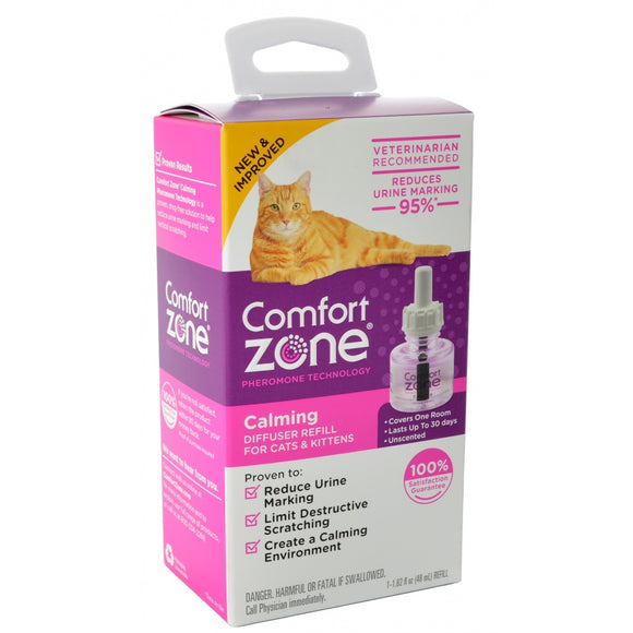 Comfort Zone Calming Diffuser Refills for Cats & Kittens (100526045)
