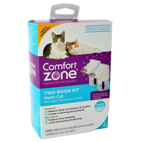 Comfort Zone Two Room Multicat Calming Diffuser (100527647)