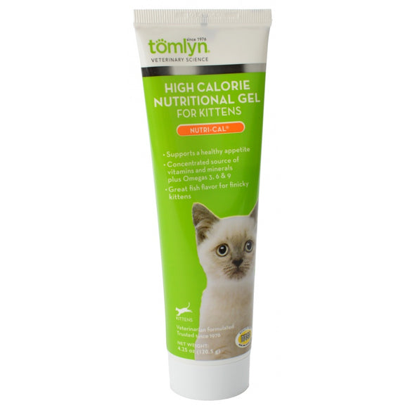 Tomlyn Nutri-Cal High Calorie Nutritional Gel for Kittens (416218)