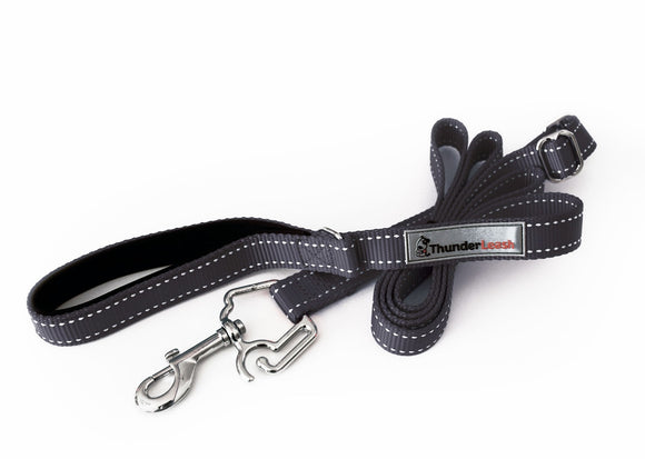 ThunderLeash No-Pull Standard Leash for Dog Black Color Large