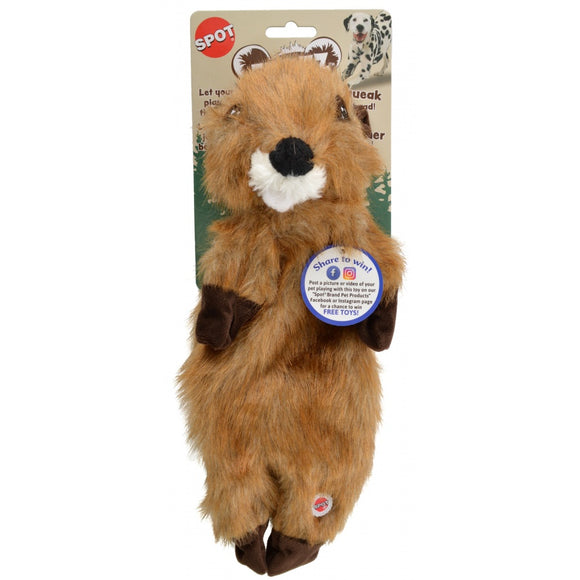 Spot Furzz Beaver Dog Toy (54326)
