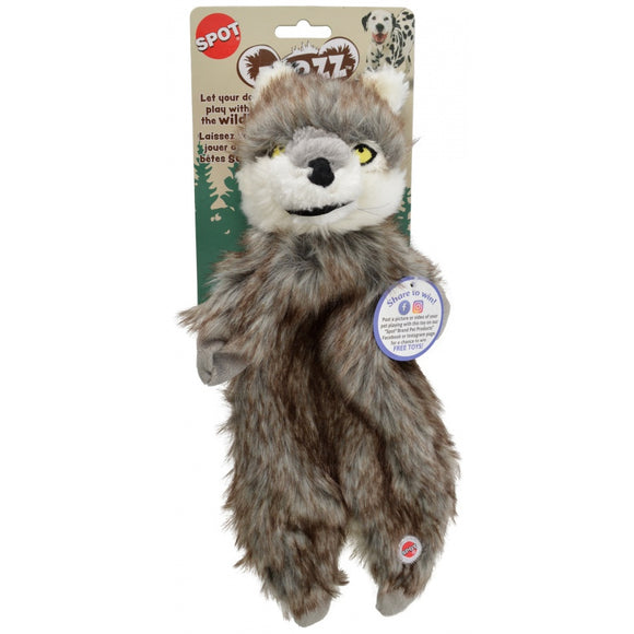Spot Furzz Wolf Dog Toy (54322)