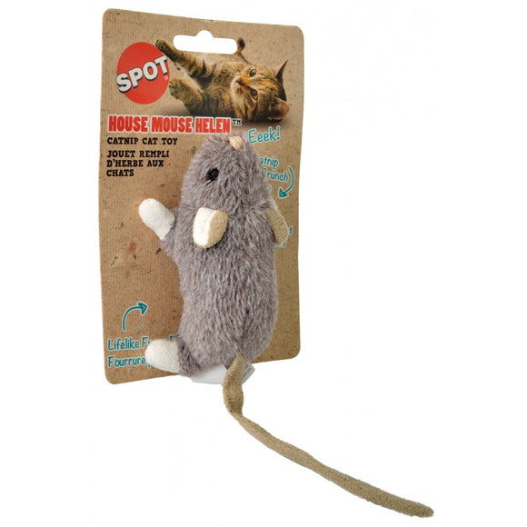 Spot House Mouse Helen Catnip Toy - Assorted Colors (52082)