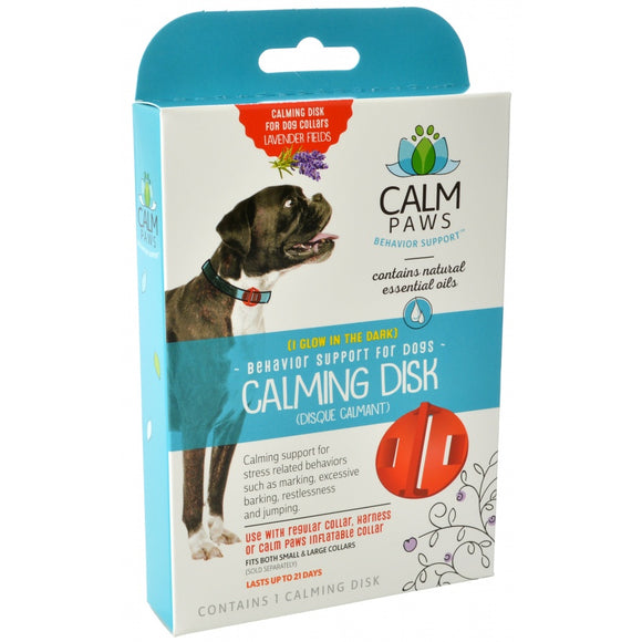 Calm Paws Calming Disk for Dog Collars (27872)