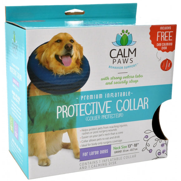 Calm Paws Premium Inflatable Protective Collar (27398)