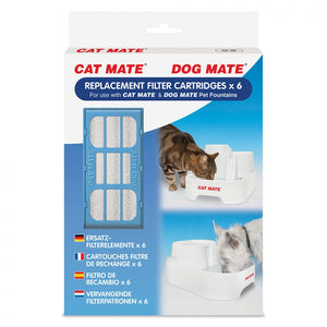 Cat Mate Replacement Filter Cartridge for Pet Fountain (389)