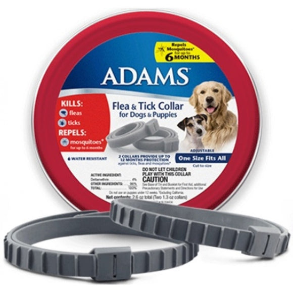 Adams Flea & Tick Collar for Dogs & Puppies (100526751)