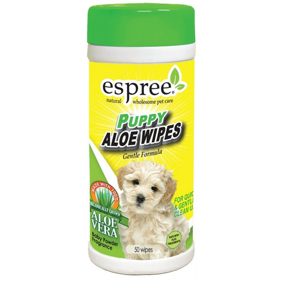Espree Puppy Aloe Wipes (NPW)