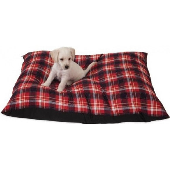 Aspen Pet Hamilton Plaid Pet Pillow Bed (80829)