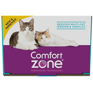 Comfort Zone Multi-Cat Diffuser Refills for Cats & Kittens (100526067)
