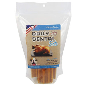 Loving Pets Chicken Recipe Daily Dental Stix Dog Treats (5051)