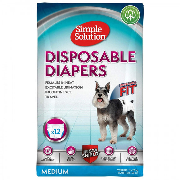 Simple Solution Disposable Diapers (10584)