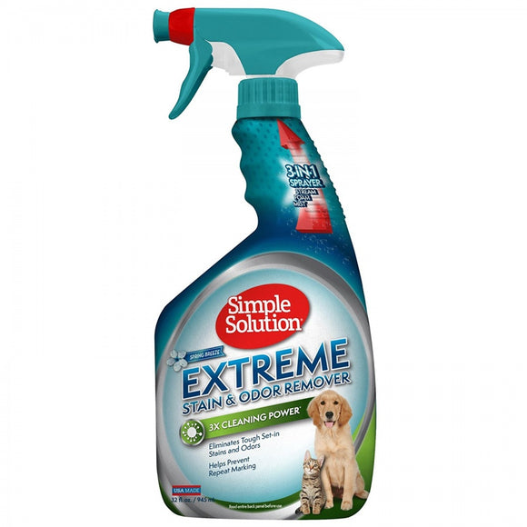 Simple Solution Extreme Stain & Odor Remover - Spring Breeze (13424-12P)