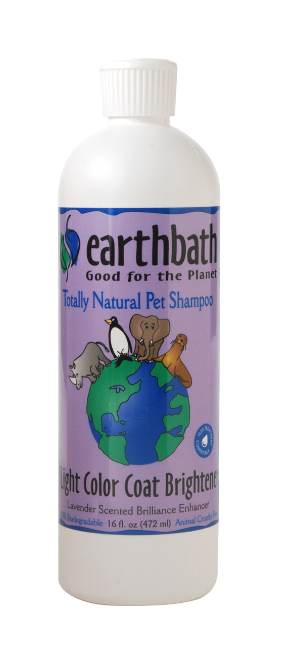Earthbath Lavender Coat Brightening Shampoo for Cat and Dog 16 Oz