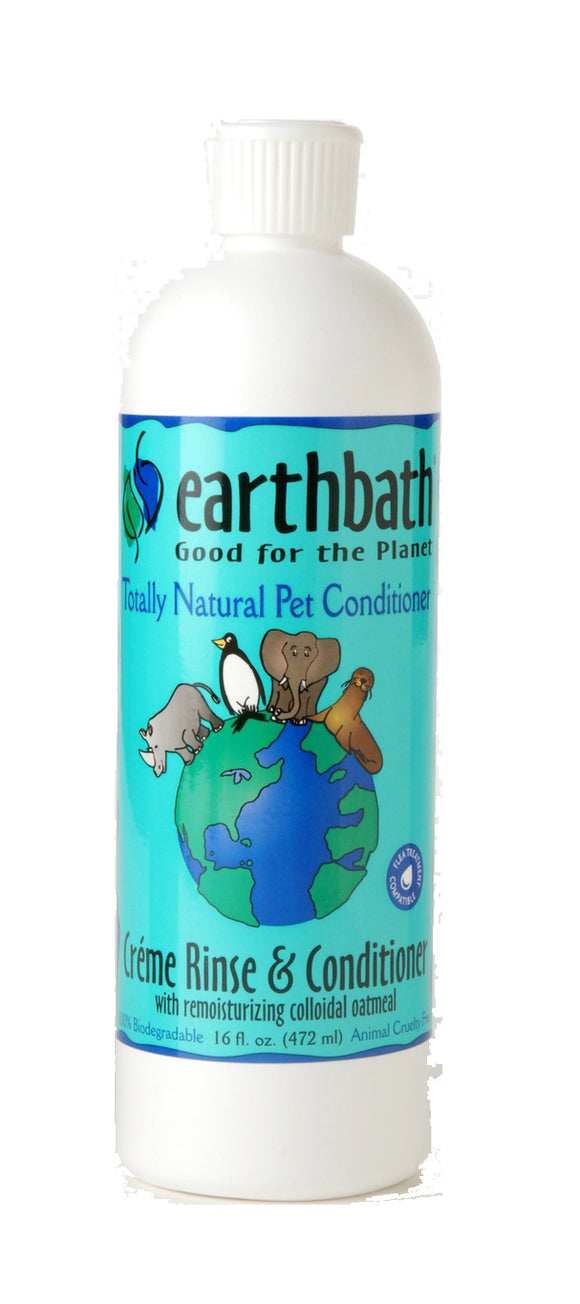 Earthbath Oatmeal & Aloe Conditioner for Dog 16 Oz