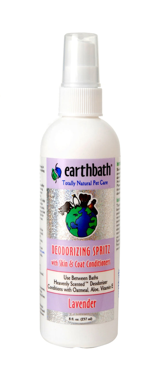 Earthbath Lavender 3-in-1 Deodorizing Spritz For Dog 8 Oz