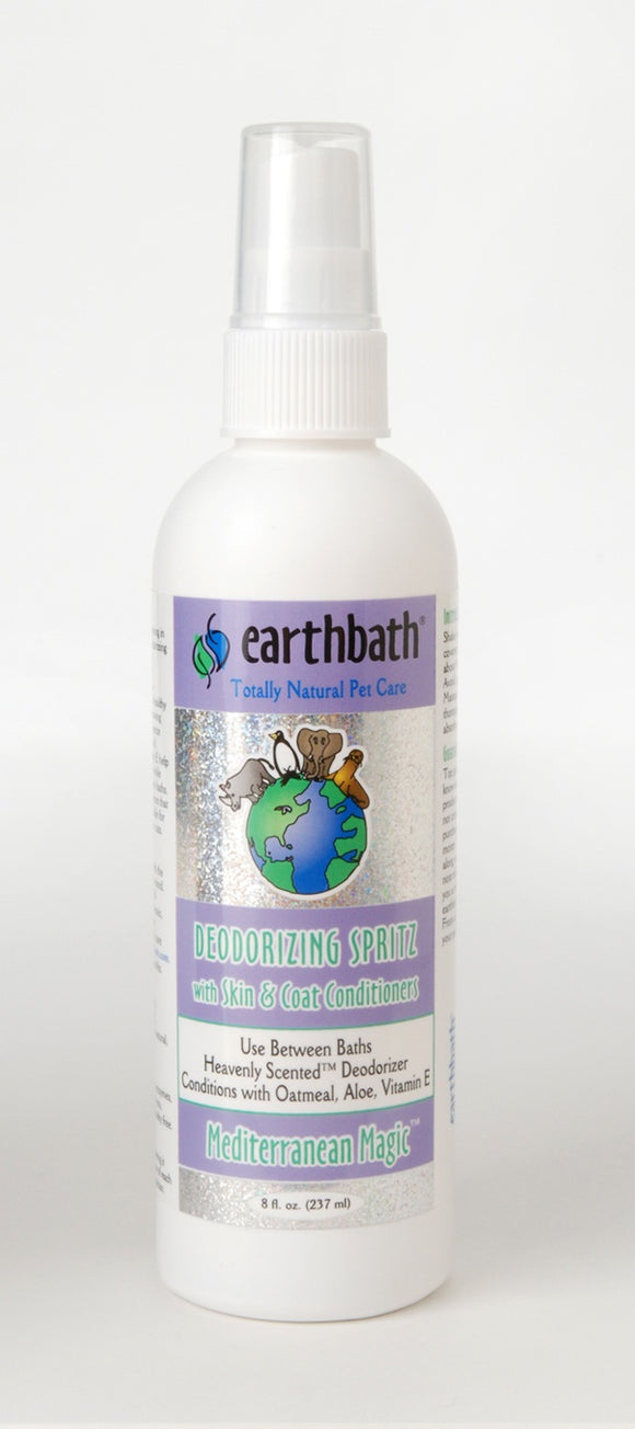 Earthbath Mediterranean Magic 3-in-1 Deodorizing Spritz For Dog 8 Oz