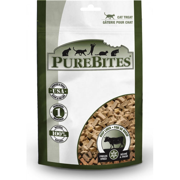 PureBites Beef Liver Freeze Dried Cat Treats (91)