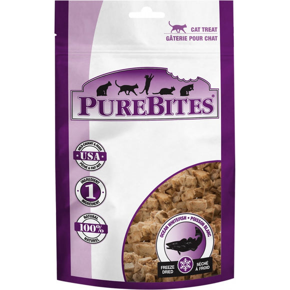 PureBites Ocean Whitefish Freeze Dried Cat Treats (40)