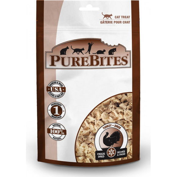 PureBites Turkey Freeze Dried Cat Treats (94)