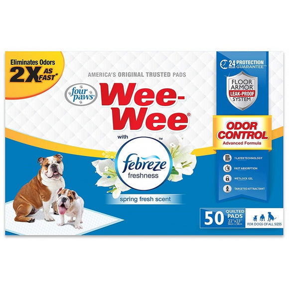 Four Paws Wee-Wee Pads - Febreze Freshness (100534946)