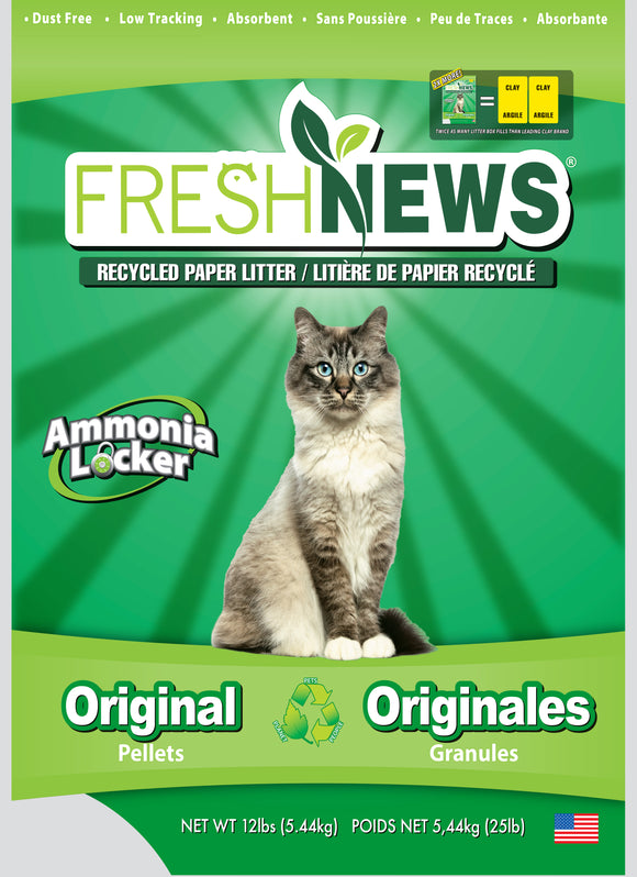 Fresh News Cat Litter 12 Lbs