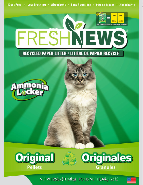 Fresh News Cat Litter 25 Lbs