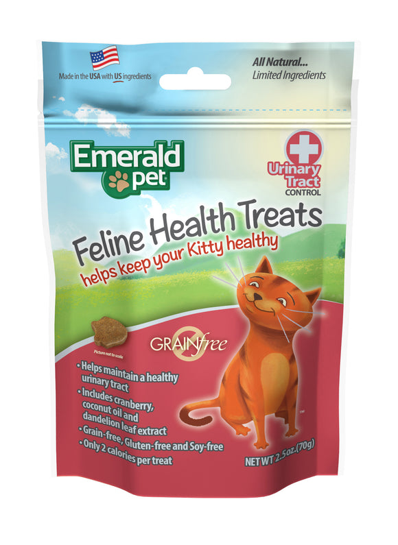 Emerald Pet Urinary Tract Control Feline Health Treats 2.5 Oz
