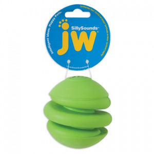 JW Pet SillySounds Spring Ball Dog Toy - Assorted Colors (31615)