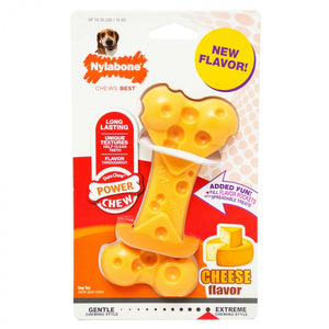 Nylabone Power Chew Cheese Bone Dog Toy (NCBW402P)