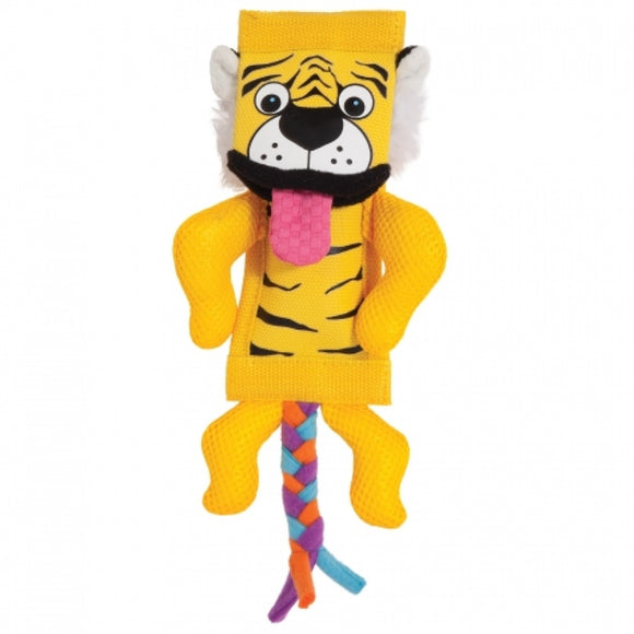 Petmate Zoobilee Firehose Tiger Dog Toy (32017)