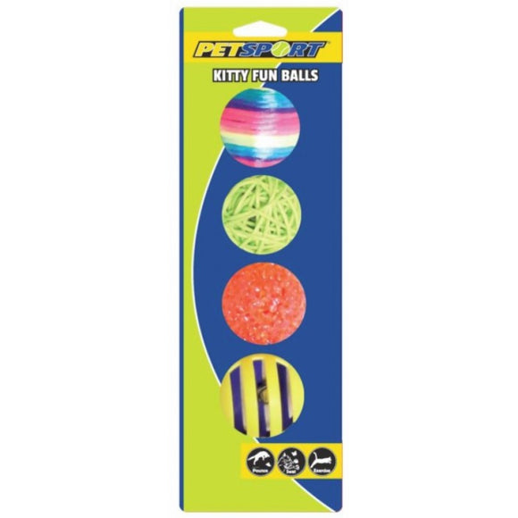 Petsport Kitty Fun Balls (70033)