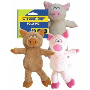 Petsport Polly Pig Dog Toy - (Assorted Colors) (20597)