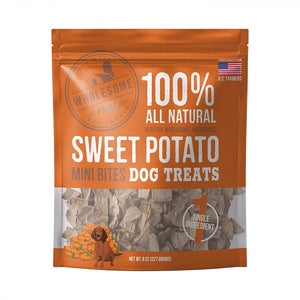 Wholesome Pride Sweet Potato Mini Bites Dog Treats (68278)