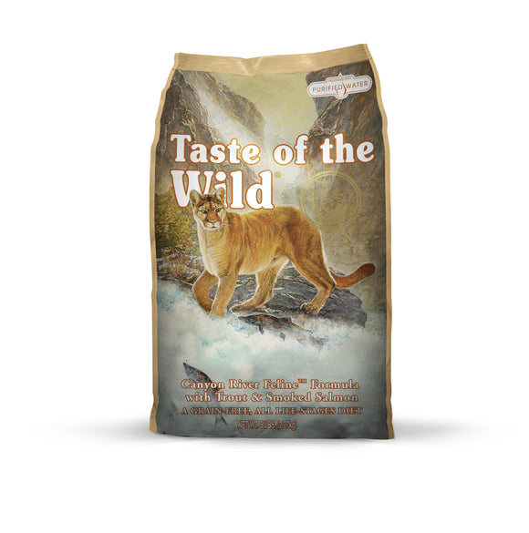 Taste of the Wild Canyon River Feline Recipe 5 Lbs