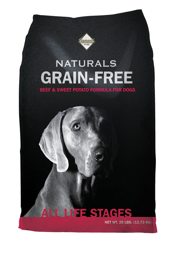 Diamond Naturals Grain-free Pasture-raised Beef & Sweet Potato Formula Dog Food 28 Lbs