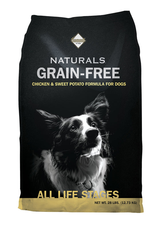 Diamond Naturals Grain-free Cage-free Chicken & Sweet Potato Formula Dog Food 28 Lbs