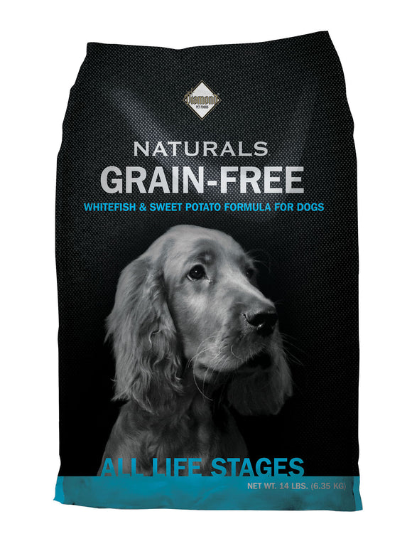 Diamond Naturals Grain-free Wild-caught Whitefish & Sweet Potato Formula Dog Food 14 Lbs