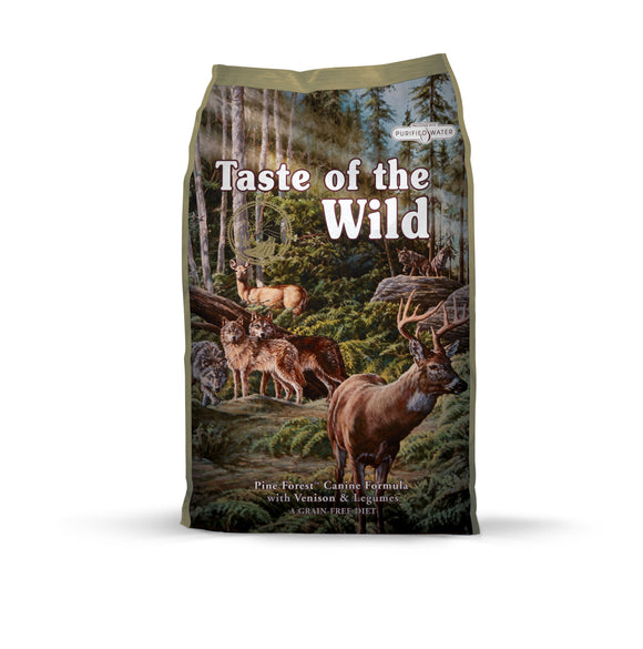 Taste of the Wild Pine Forest Canine Recipe 28 Lbs