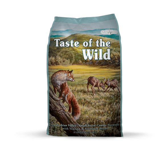 Taste of the Wild Appalachian Valley Small Breed Canine Recipe 28 Lbs
